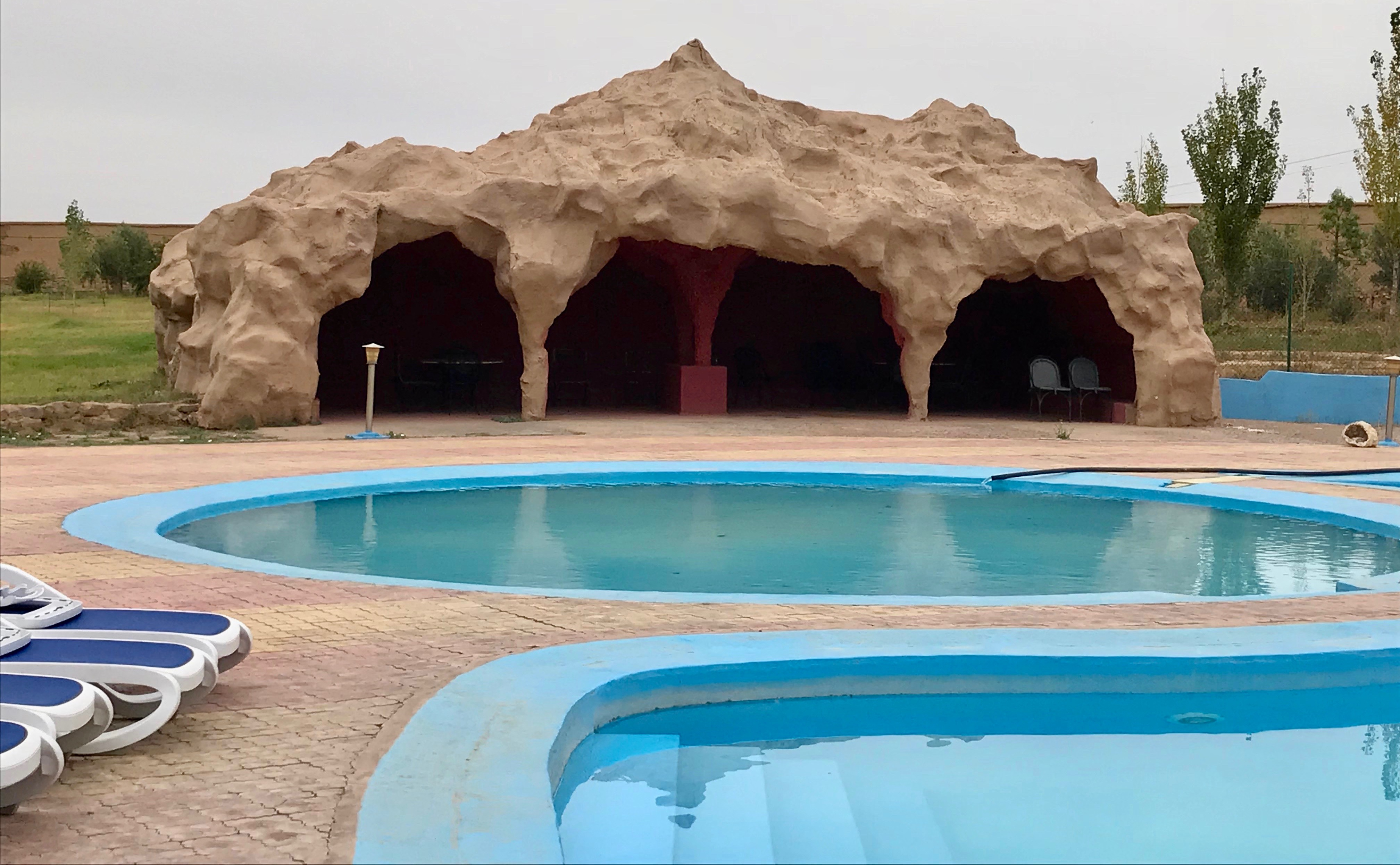 Pool at Hotel Taddart, Meknes-Tafilalet