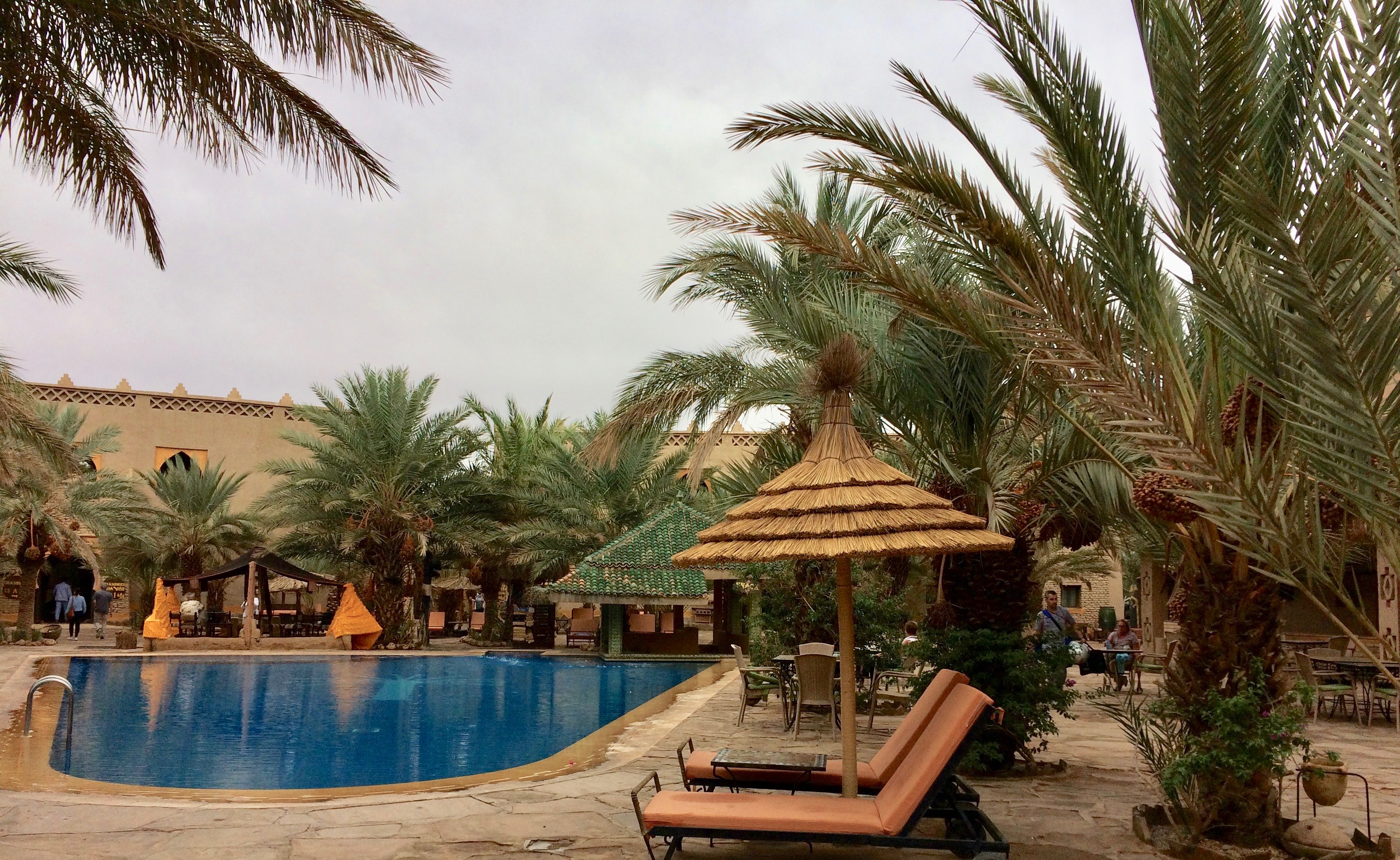 Pool at Kasbah Xaluca Maadid