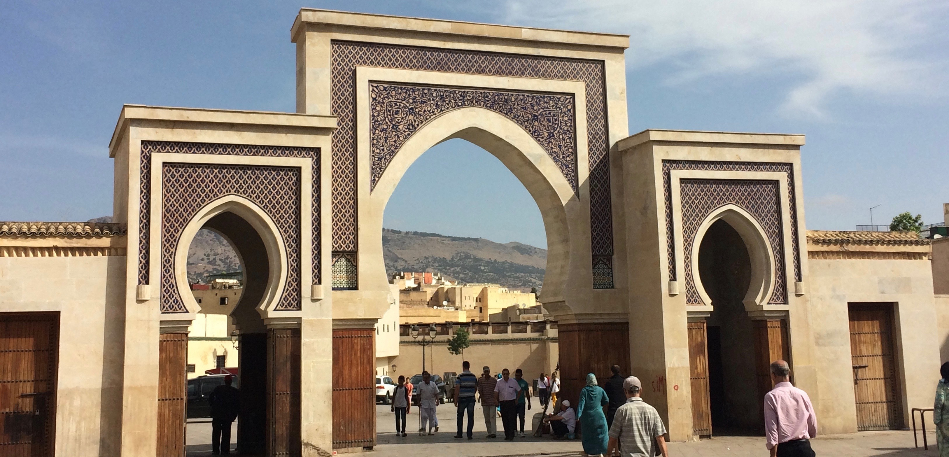 Entryway to Fes medina