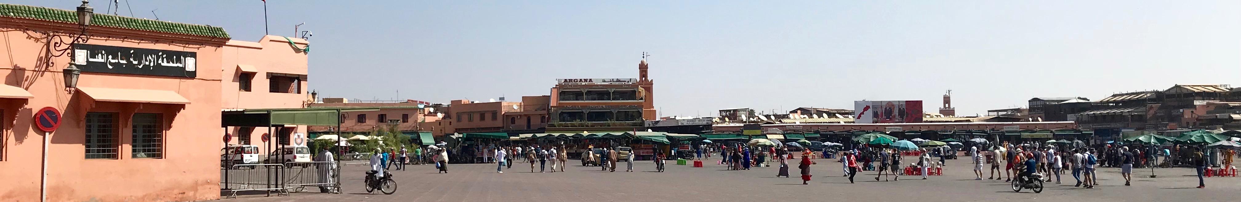 Jemaa el-Fna Square, Marrakech Medina