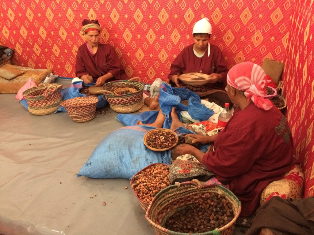 Women of the Marjana cooperative