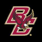Boston College Logo White Outline