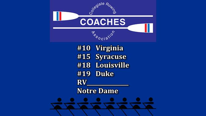 CRCA Rowing Top 20
