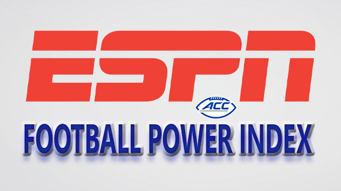 ESPN Power Football Index