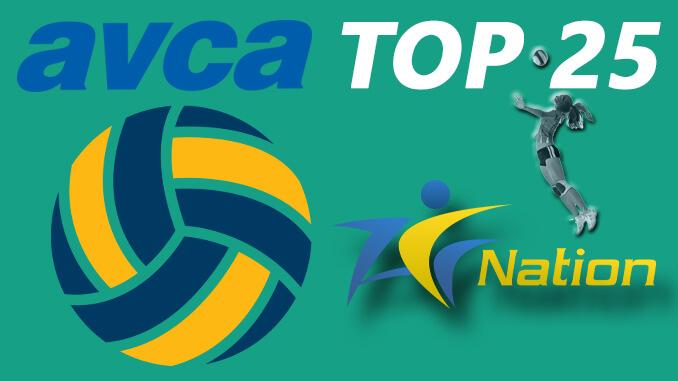 AVCA Volleyball Preseason Top 25