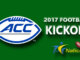 ACC Football Kickoff