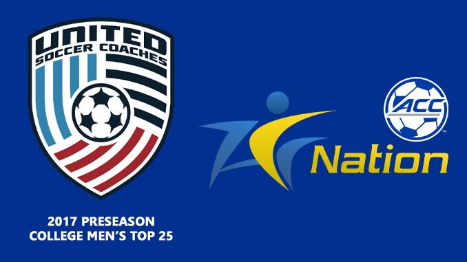 United Soccer Coaches Preseason Top 25