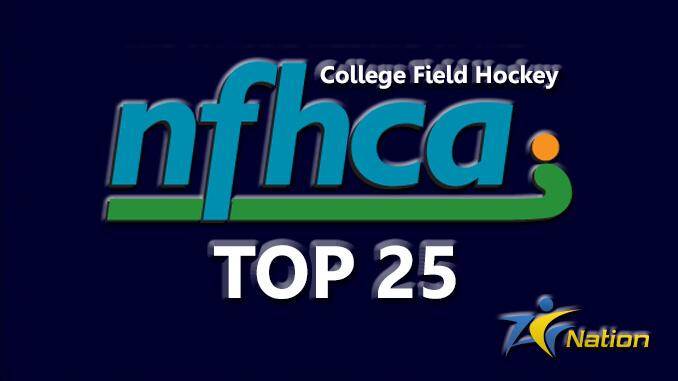 NFHCA Field Hockey Top 25
