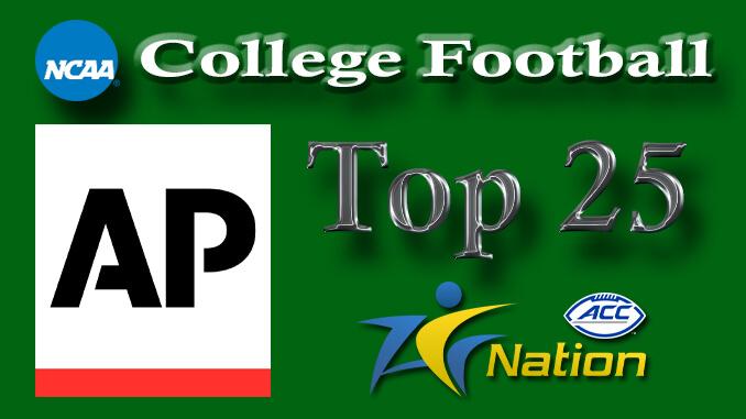AP NCAA Football Top 25