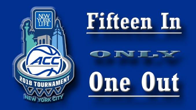 Basketball Tournament ACC