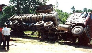 righting truck