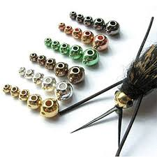 Tungsten fly fishing beads