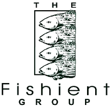 H2O fishient fishing logo