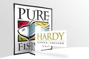 Hardy Greys Pure Fishing Logo