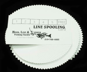Line Spooling - Pay for 5, get the 6th FREE!