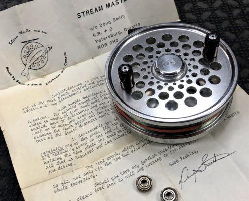 Stream Master Centerpin Float Reel Bearing Conversion BB
