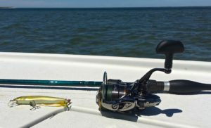 St Croix Legend Extreme Baitcast Rod Shimano Stella 100 Spinning Reel and Megabass Vision Lure AAA