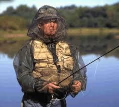 Mosquito Bug Jacket Fishing Logo