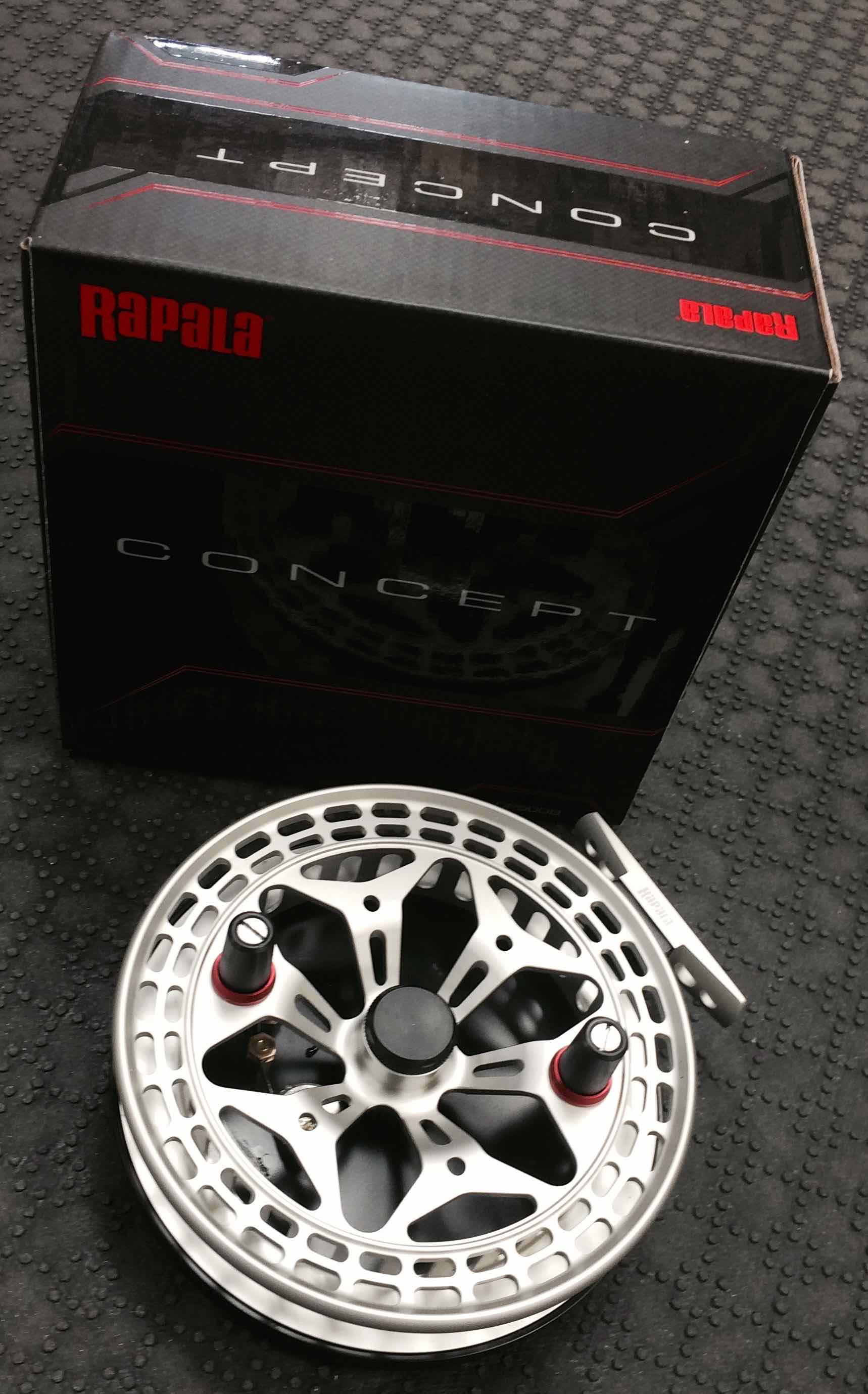 Rapala Concept 5 inch Centerpin Float Reel AA