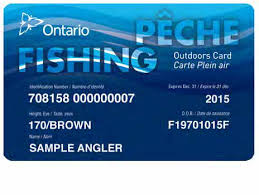 Ontario Fishing Licence