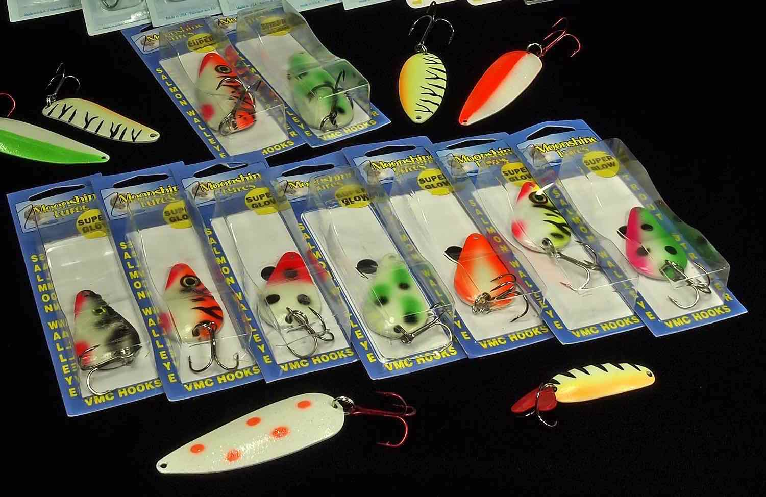 Moonshine Salmon Glow Spoon Assortment