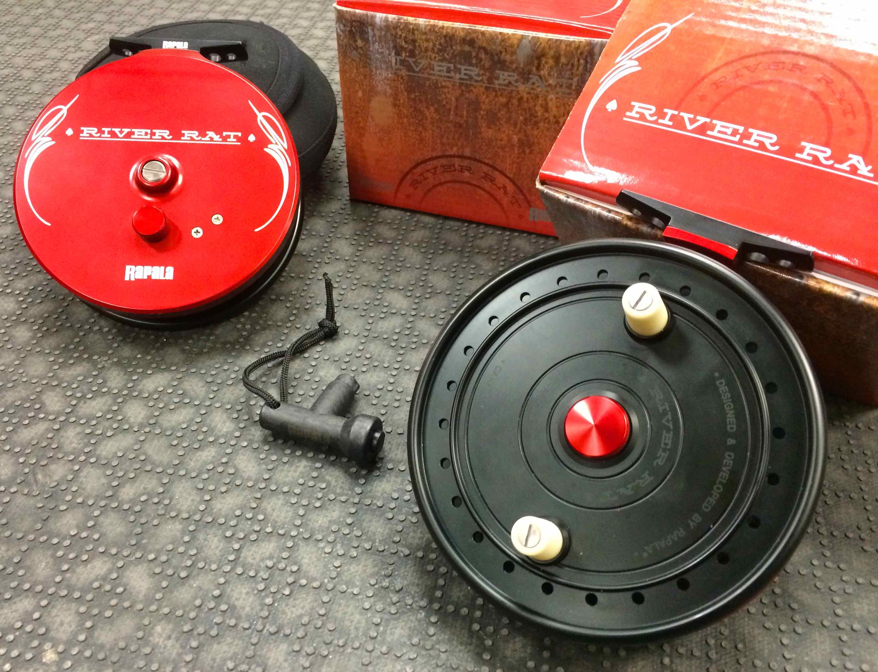 New 2016 Rapala River Rat Centerpin Float Reel RRC465 BB