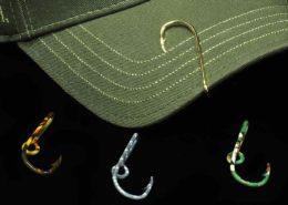 Fishing Hook Hat Pins