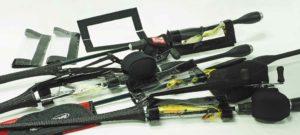 Custom HLS Hook Resistant Durable PVC Clear Lure Wrap C
