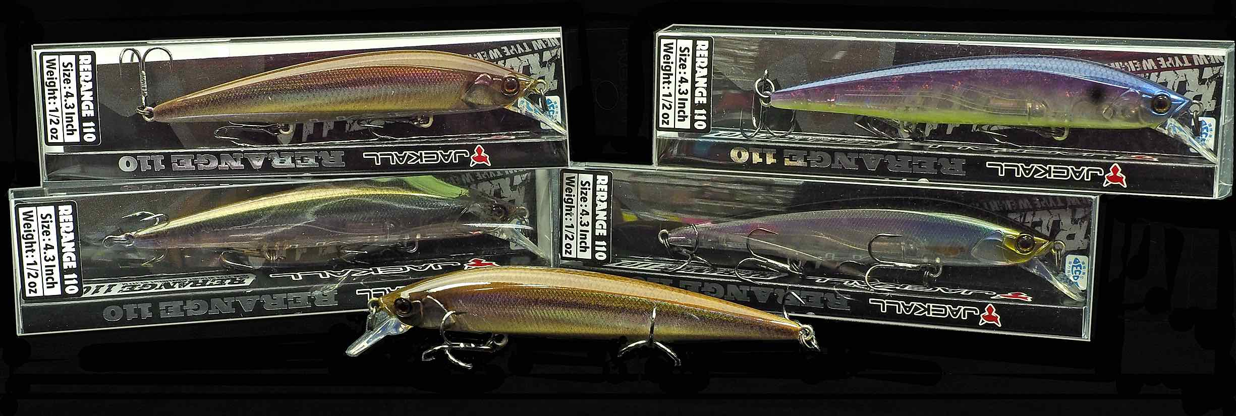 Jackall Rerange Lure Assortment.