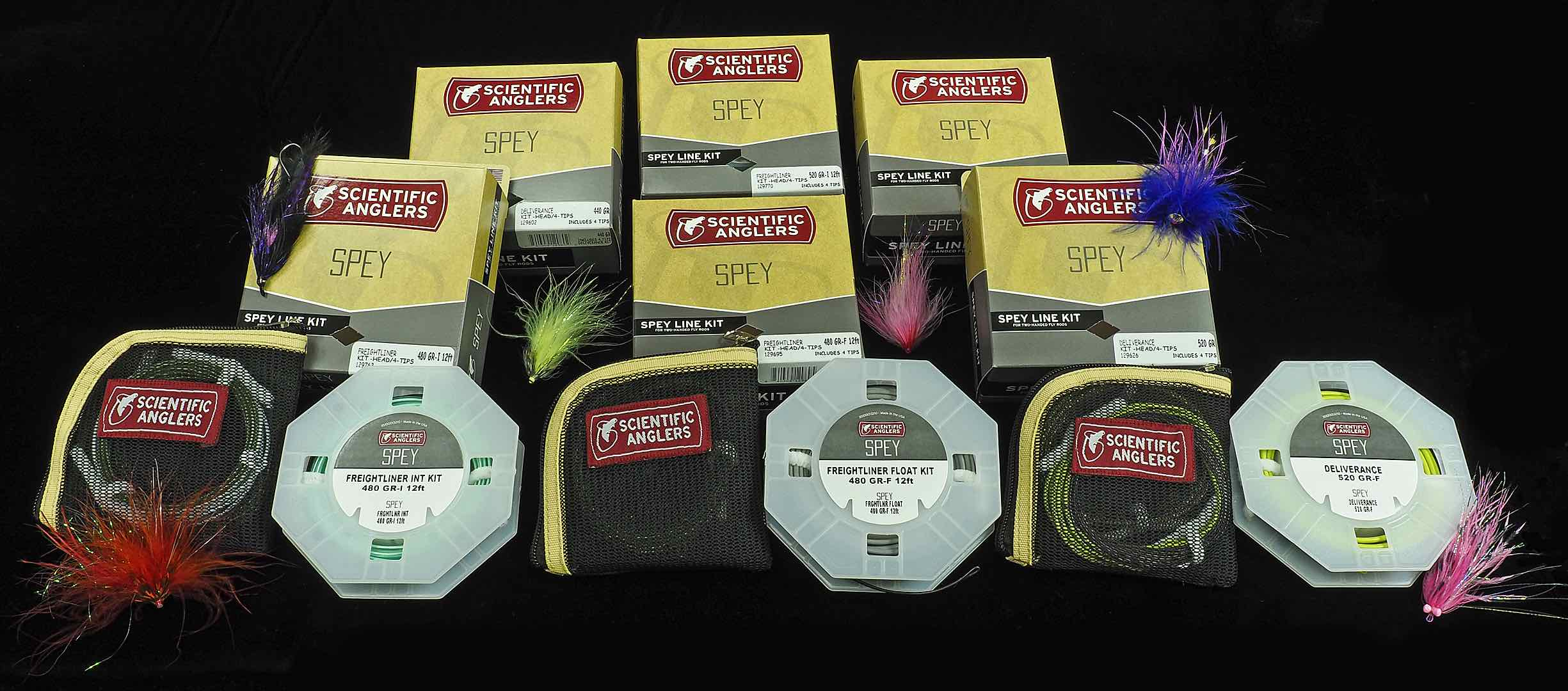 Scientific Anglers Floating Intermediate Freightliner and Deliverance Spey Line Kits A