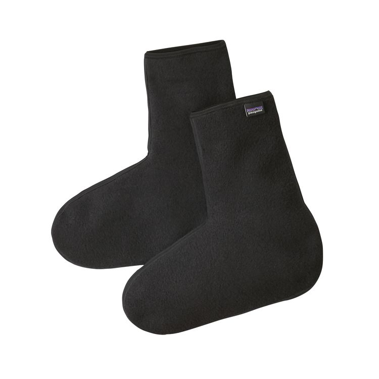 Patagonia Winter Weight Fleece Oversock.