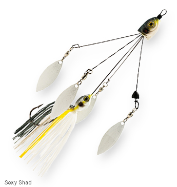 Z-Man QuadZilla Collapsible Four-Arm Spinnerbait