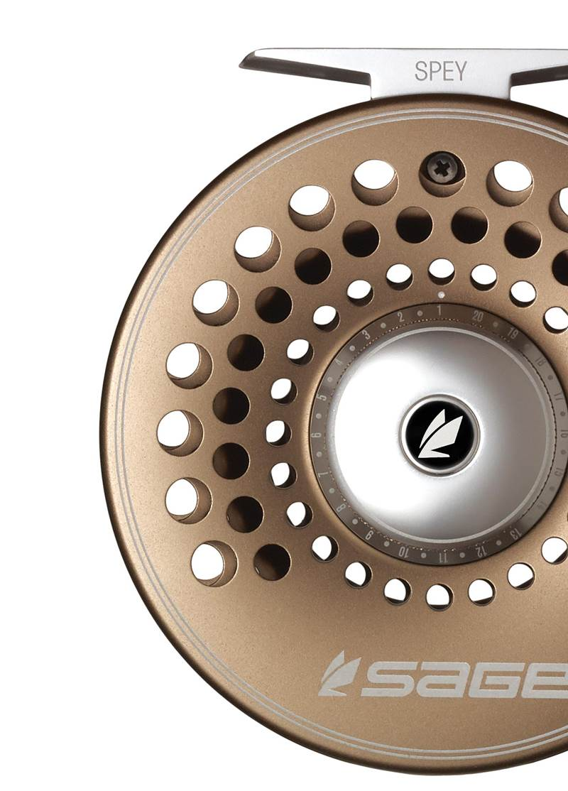 The Sage Spey Full Frame Fly Reel