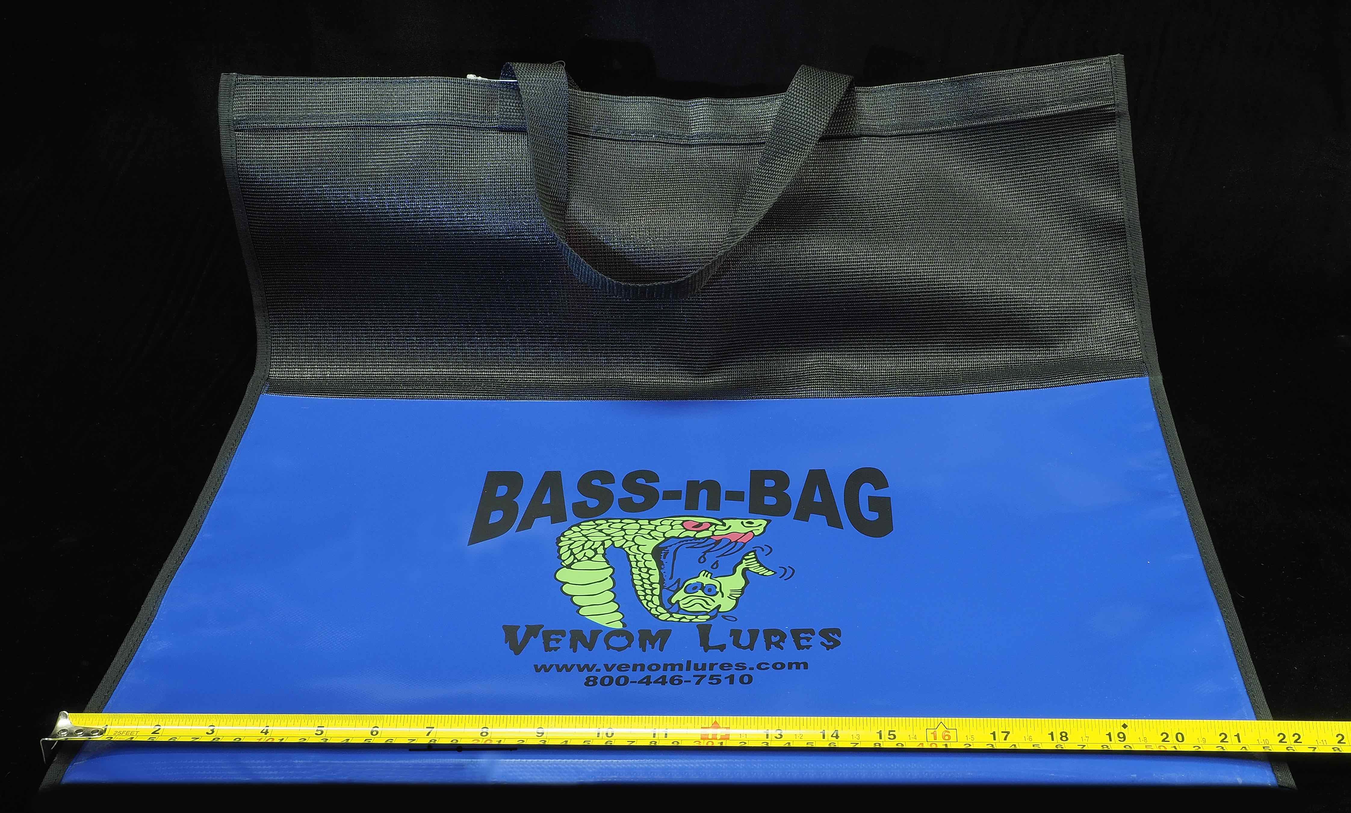 Venom Lures Bass-N-Bag Bass Tournament Weigh-Bag
