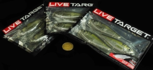 the LIVETARGET Skip Shad life-like soft plastic bait