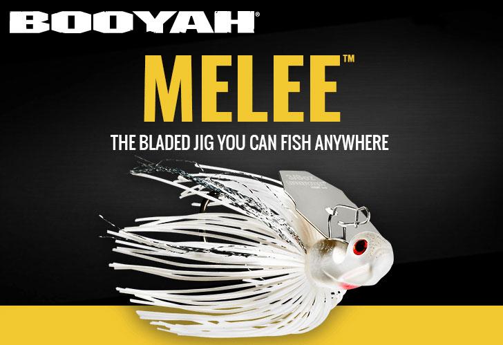 The BOOYAH Melee Blade Jig.