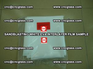 Sandblasting White EVA INTERLAYER FILM sample, EVAVISION (28)