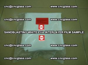 Sandblasting White EVA INTERLAYER FILM sample, EVAVISION (31)