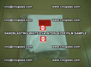 Sandblasting White EVA INTERLAYER FILM sample, EVAVISION (33)
