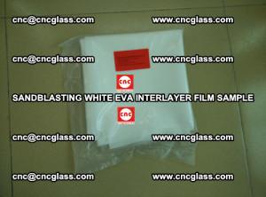 Sandblasting White EVA INTERLAYER FILM sample, EVAVISION (35)