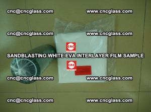 Sandblasting White EVA INTERLAYER FILM sample, EVAVISION (44)