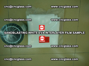 Sandblasting White EVA INTERLAYER FILM sample, EVAVISION (53)