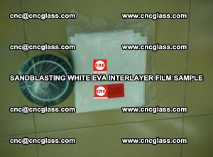 Sandblasting White EVA INTERLAYER FILM sample, EVAVISION (54)