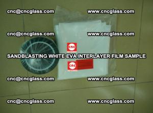Sandblasting White EVA INTERLAYER FILM sample, EVAVISION (55)