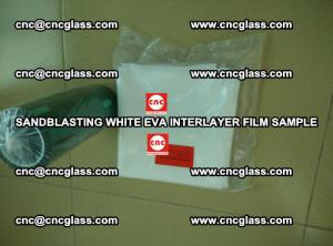 Sandblasting White EVA INTERLAYER FILM sample, EVAVISION (59)