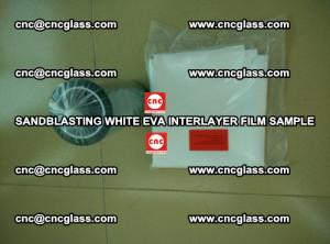 Sandblasting White EVA INTERLAYER FILM sample, EVAVISION (64)