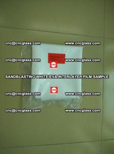 Sandblasting White EVA INTERLAYER FILM sample, EVAVISION (69)