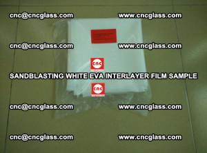 Sandblasting White EVA INTERLAYER FILM sample, EVAVISION (9)