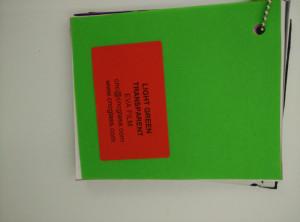 Light Green EVAVISION transparent EVA interlayer film for laminated safety glass (33)
