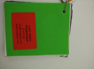 Light Green EVAVISION transparent EVA interlayer film for laminated safety glass (38)